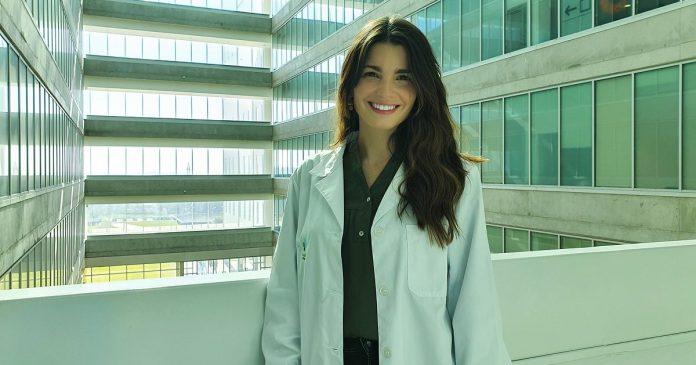 Cátia Azevedo é autora principal do trabalho